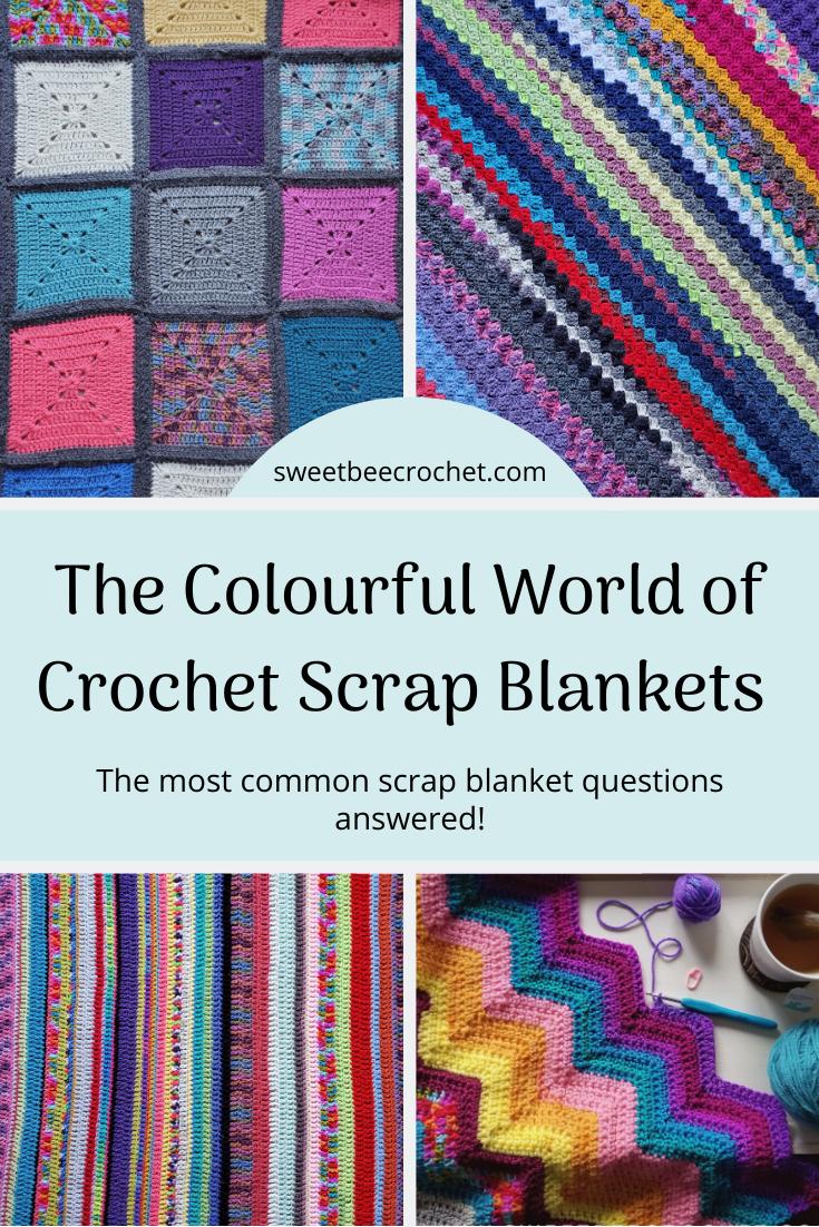 Crochet Scrap Blanket Main
